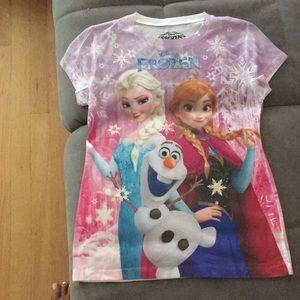 Shirt tunic Frozen Disney L 11-12 new